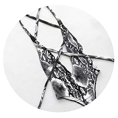 92d11398f8 DIY Long Strap Wrap Around 2019 Women Swimwear One Piece Swimsuit Female  Bather Leopard Printed Bathing