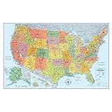 Amazon Com Rand Mcnally M Series Full Color Laminated border=