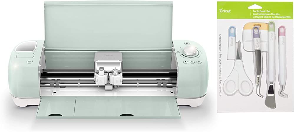 Cricut Explore Air 2 Essentials Bundle Comes With Tools Trimmer Set Amazon Co Uk Kitchen Home
