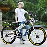 Deals on ULUIKY 20-in 7 Speed Youth Mountain Bike Chil drens Bicycle