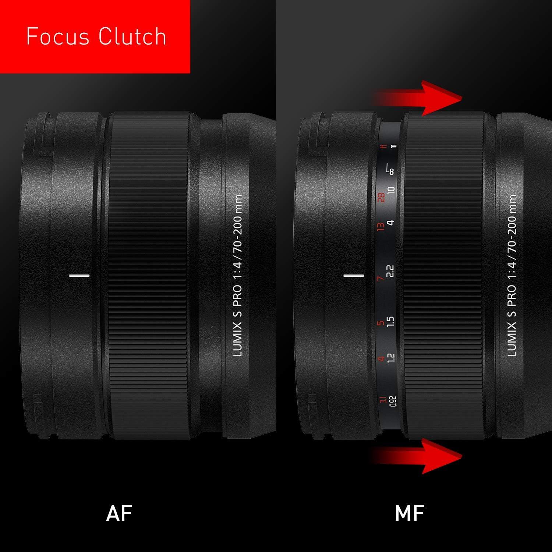 Panasonic S R70200 Lumix S Pro 70 200 Mm F4 Kamera