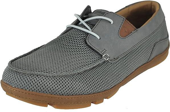 OLUKAI Men's Mano Boat Shoe