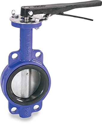 4 Wafer Style Butterfly Valve W//EPDM Seals and 10 Position Handle