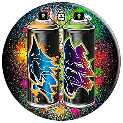 Amazon.com: Graffiti – Botes de pintura en aerosol para ...