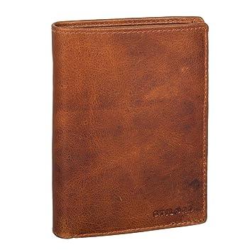 85dc0998faf78 STILORD  Emil  Herren Leder Geldbörse RFID Schutz Portemonnaie im  Hochformat mit Kleingeldfach EC-