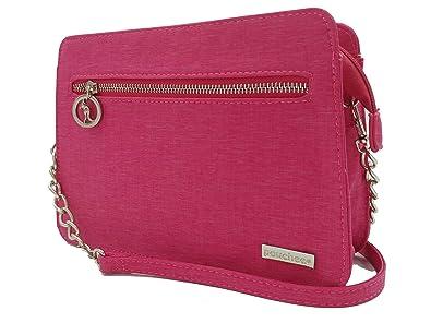 94180740b26ba3 Avi Pouchee Crossbody Handbag/Organizer Purse (Pink): Handbags ...