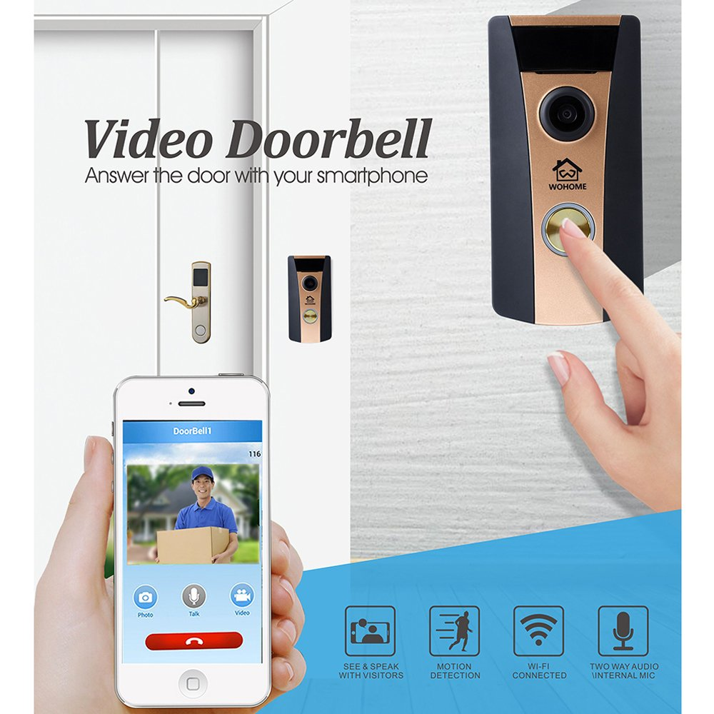 Wifi Doorbell Video Doorbell C...