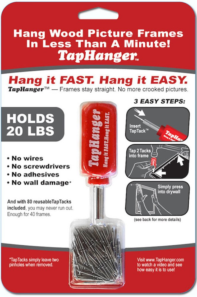 TapHanger Picture Frame Hanging Kit by TapHanger