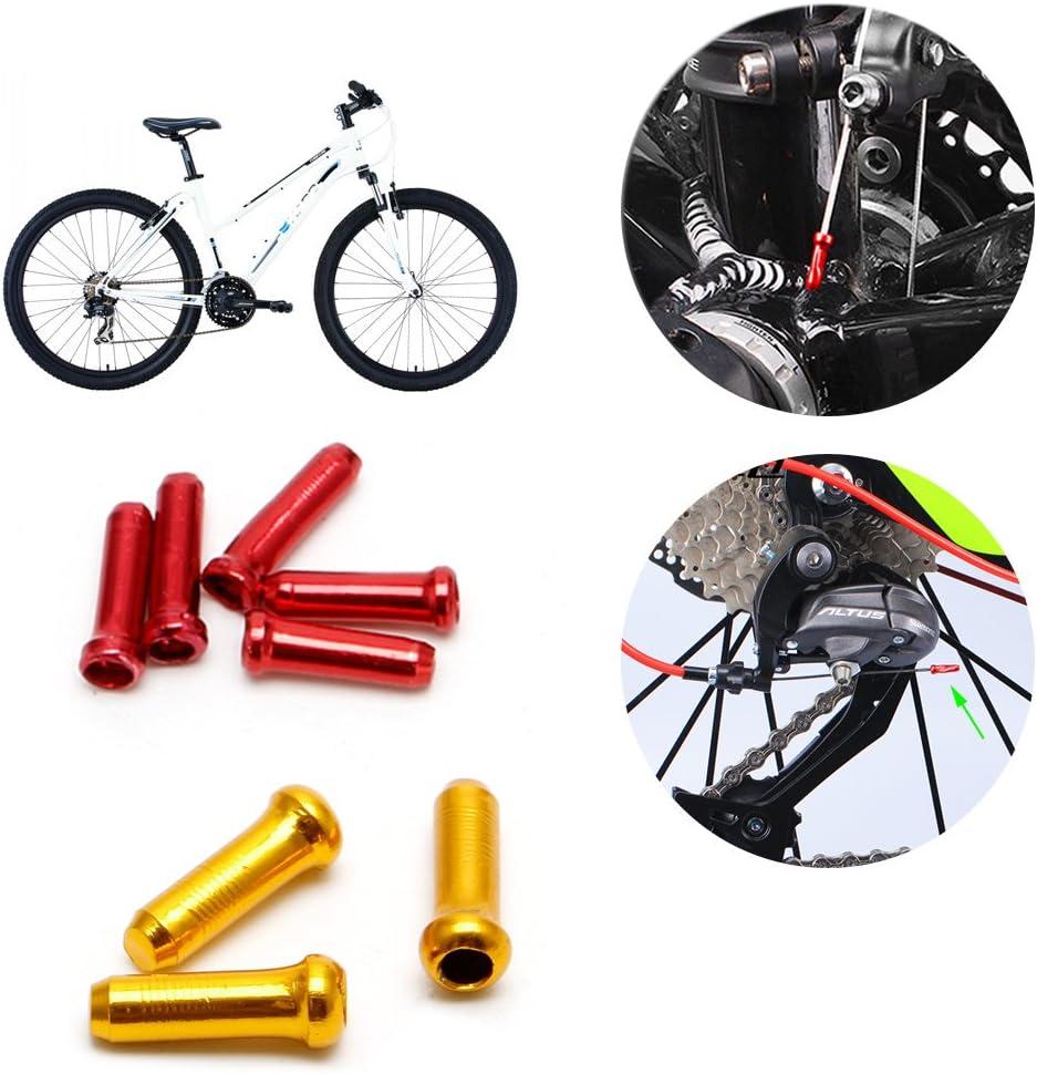 Lergo 30 Piezas de Cable de Freno para Bicicleta MTB