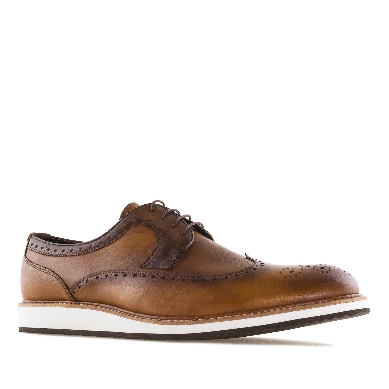 Andres Machado 6331.Zapato Estilo Oxford en Piel.Hombre.Tallas Grandes. 46/50. Made In Spain 50 EU|Lavatocuero