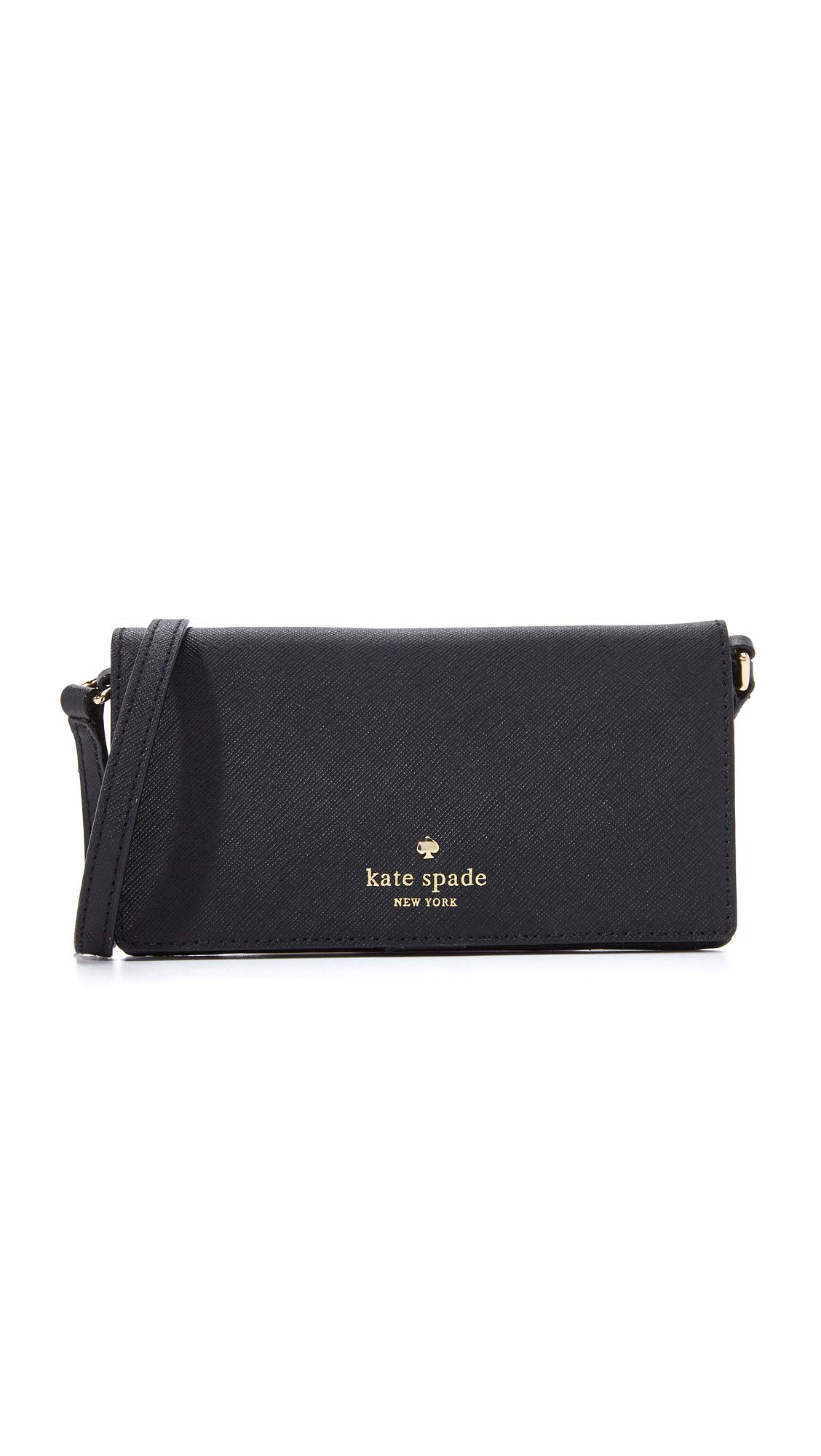 Kate Spade New York Crossbody iPhone Case for iPhone 6 Black One Size