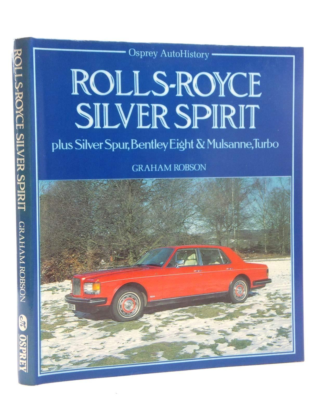 AUTOHISTS ROLLS-ROYCE SILVER SPIRI (Auto History S.): Amazon.es: Graham Robson: Libros en idiomas extranjeros