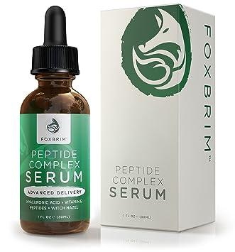 Peptide Complex Serum Best Anti Aging Serum Anti Wrinkle Skin Care Advanced Delivery