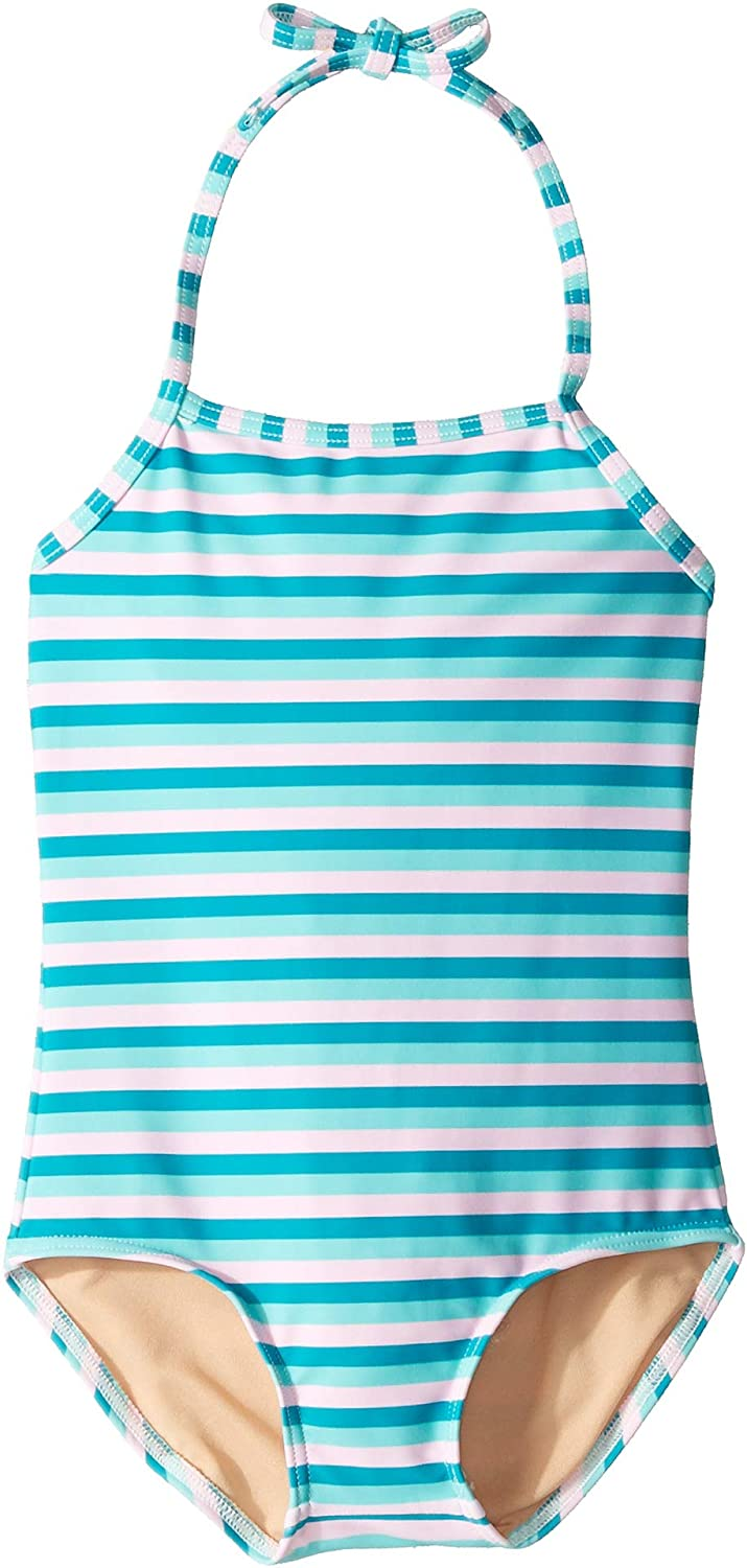 Toobydoo Baby Girls One-Piece Swimsuit Toddler//Little Kids//Big Kids
