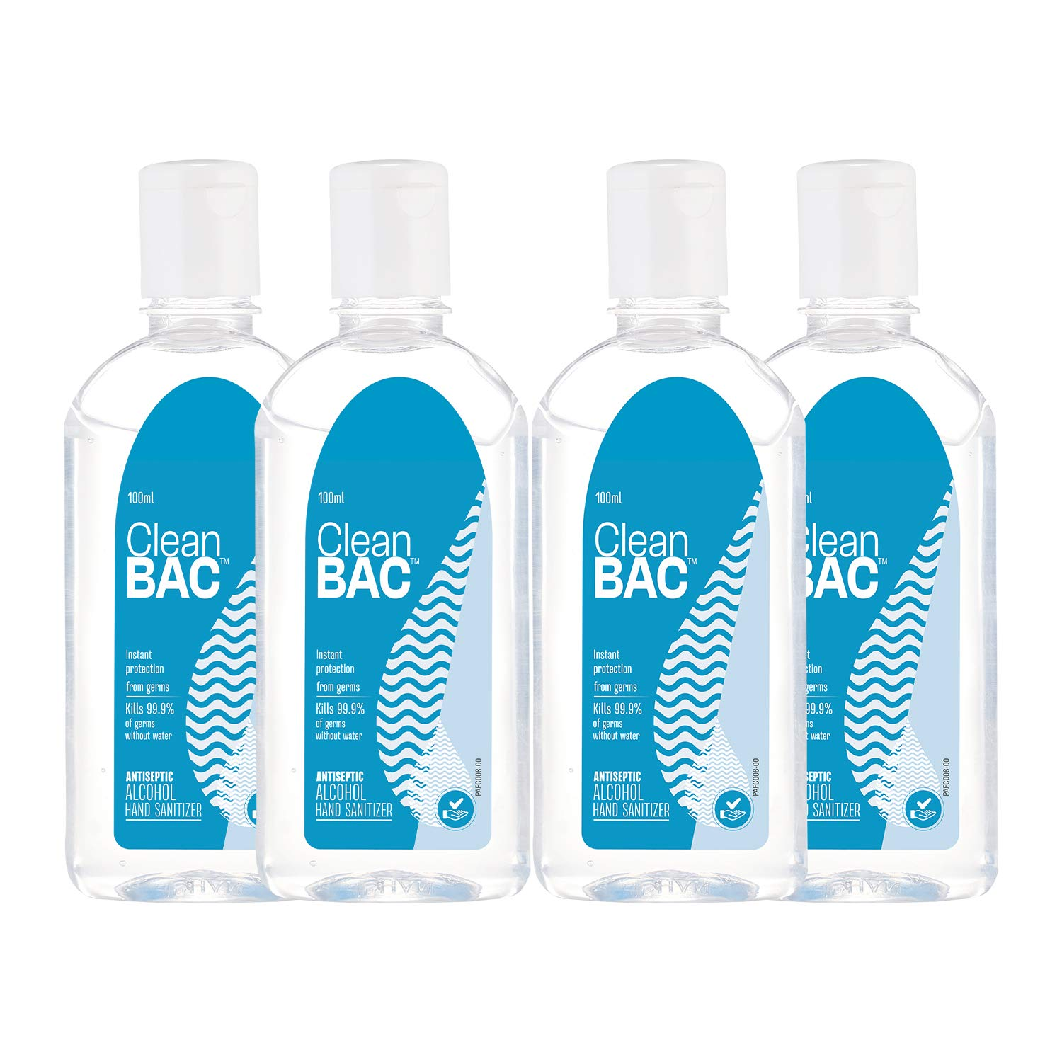 Loot Deal Clean BAC Hand Sanitizer, Pack of 4