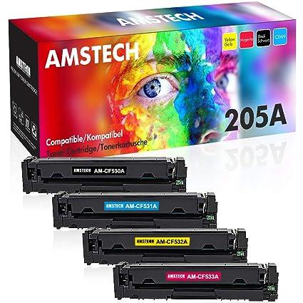 Amstech - Cartucho de Tóner de Repuesto para impresoras HP Color ...