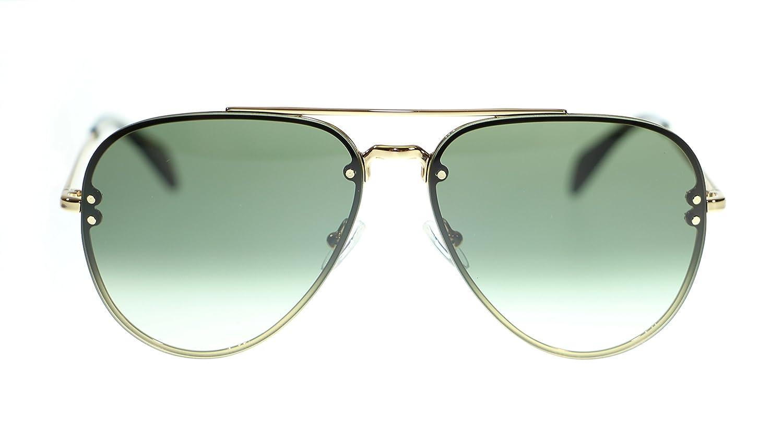 26ce3e15488b Amazon.com  Celine Unisex Sunglasses Cl41392 J5G XM Gold Green Degrade  Aviator 58mm  Clothing