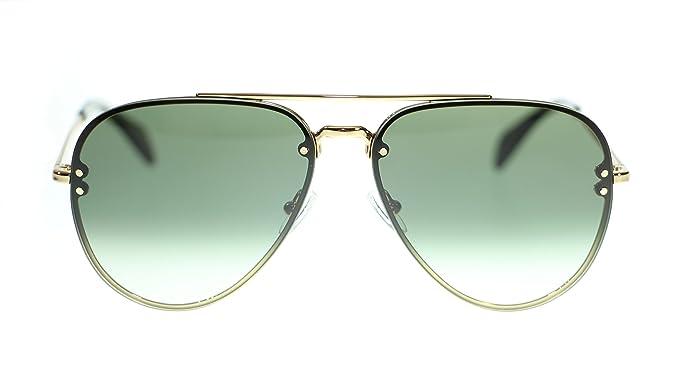 964c02a4fbf Amazon.com  Celine Unisex Sunglasses Cl41392 J5G XM Gold Green ...