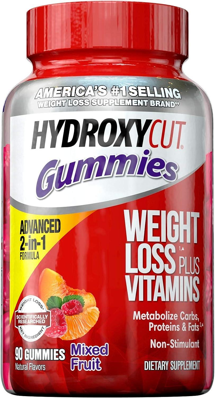 Hydroxycut Caffeine-Free Weight Loss Gummy for Women & Men