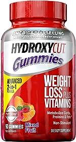 Weight Loss Gummies for Women & Men | Hydroxycut Caffeine-Free Weight