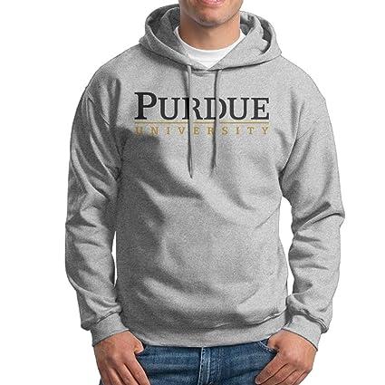 PHOEB para Hombre Ropa Deportiva cordón Sudaderas con Capucha Outwear Chaqueta, Purdue Universidad de Fresno