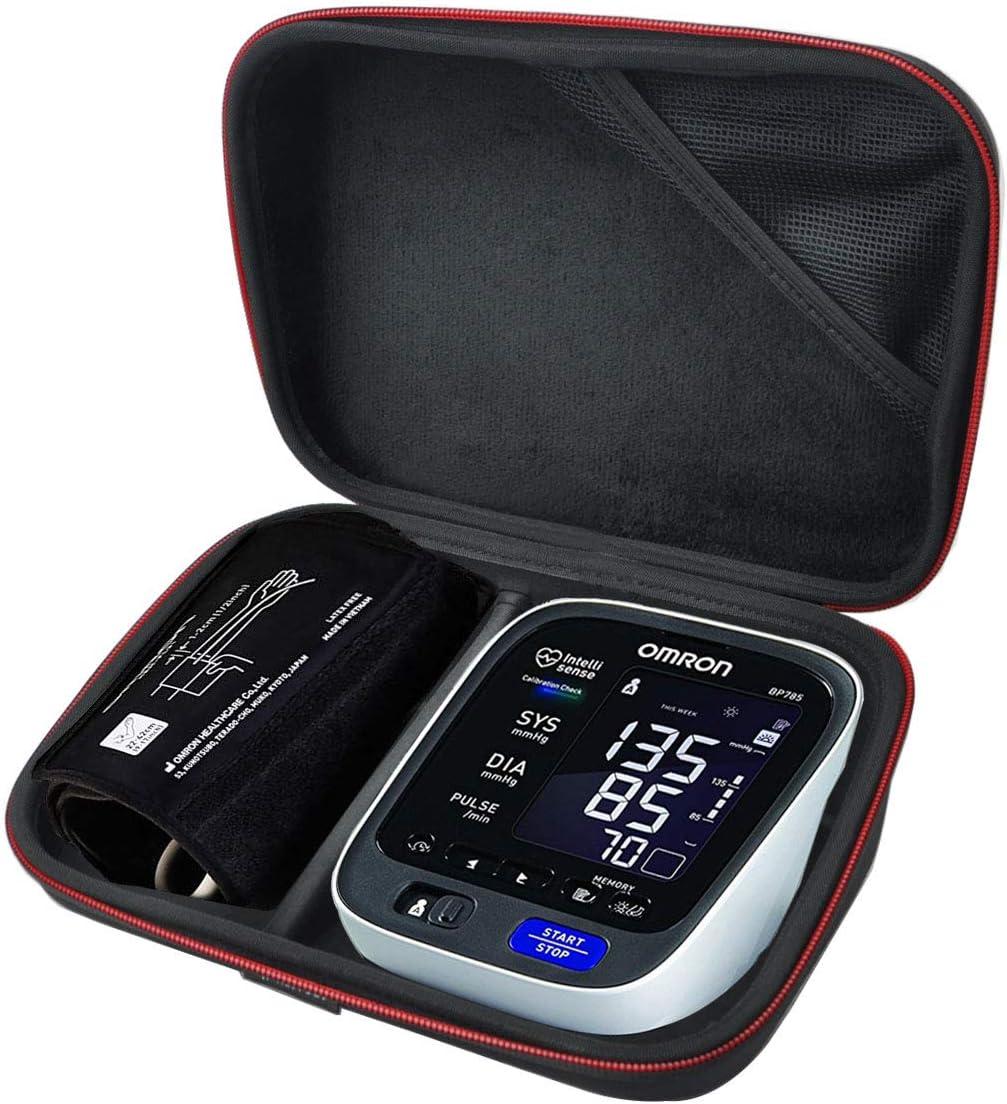 HESPLUS Carrying Case Travel Bag for Omron 10 Series Wireless Upper Arm Blood Pressure Monitor BP786 BP786N BP785N BP791IT