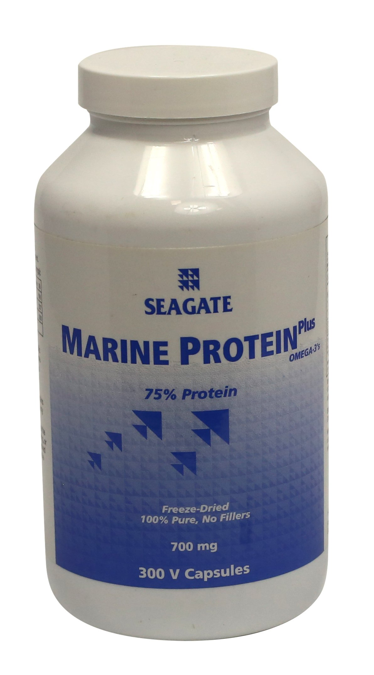 Seagate Products Marine Protein Plus Omega-3's 700 mg 300 Capsules