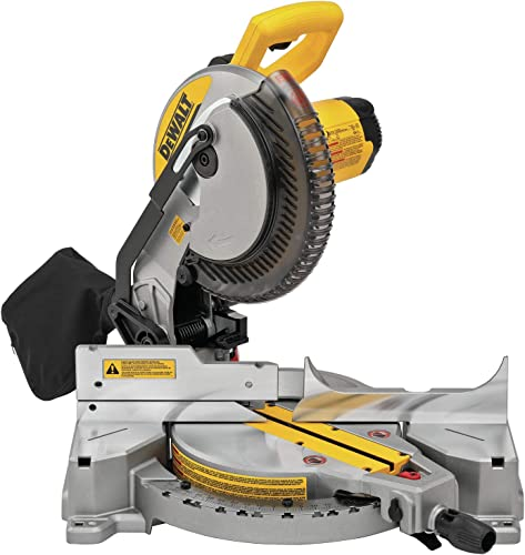 DEWALT Miter Saw, Single Bevel, Compound, 10-Inch, 15-Amp DWS713