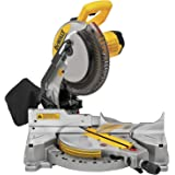DEWALT Miter Saw, Single Bevel, Compound, 10-Inch, 15-Amp (DWS713)