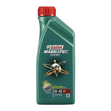Aceites Castrol Magnatec motor 151B2E 5W-40 C3, 5 litros: Amazon.es: Coche y moto