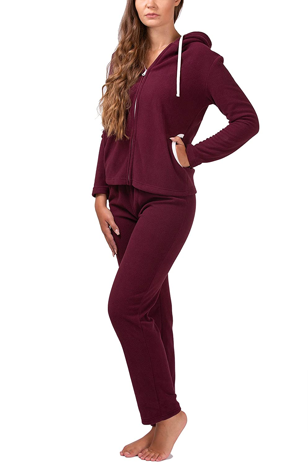 SLOUCHER - Fleece suit House suit Leisure suit for ladies