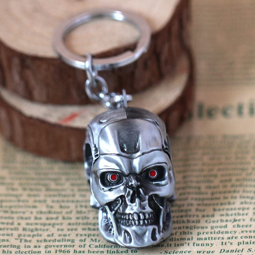 Terminator head keyring
