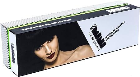 elie HS-039 Mini planchas del pelo de viaje, plancha alisadora cerámica con doble voltaje (verde neón): Amazon.es: Salud y cuidado personal