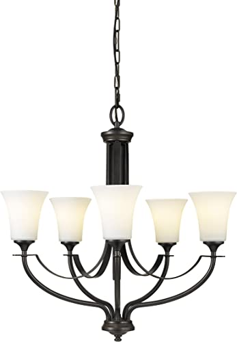Sea Gull Lighting F2252/5ORB Barrington Five Light Chandelier