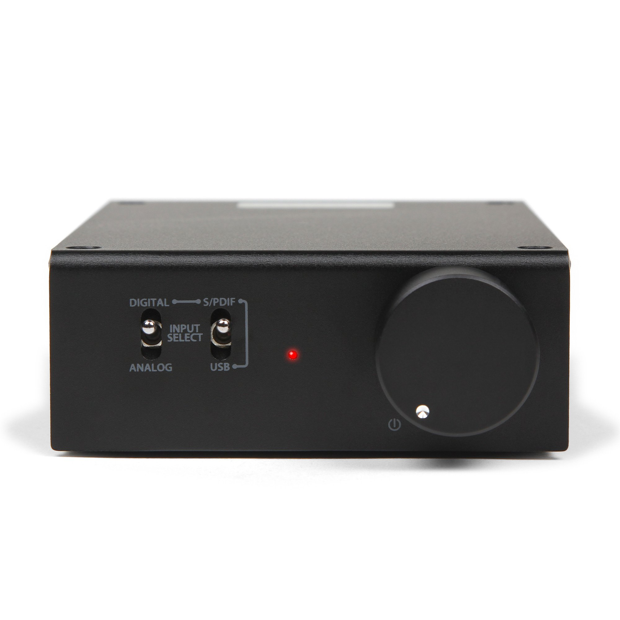 Micca OriGain Compact Stereo Integrated Amplifier and DAC, 50W x 2, 96kHz/24-Bit, USB and Optical S/PDIF (Black) by Micca