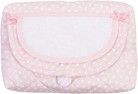 Bolsa de malla para toallitas húmedas para niños, dispensador recargable de toallitas húmedas, estuche para toallitas rellenables Rosa: Amazon.es: Bebé