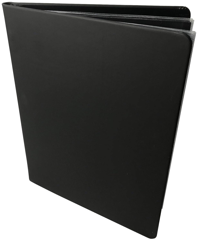 The Model Shop Portfolio Book Black Scuba, 11 x 14 20 Pages for 40 Views