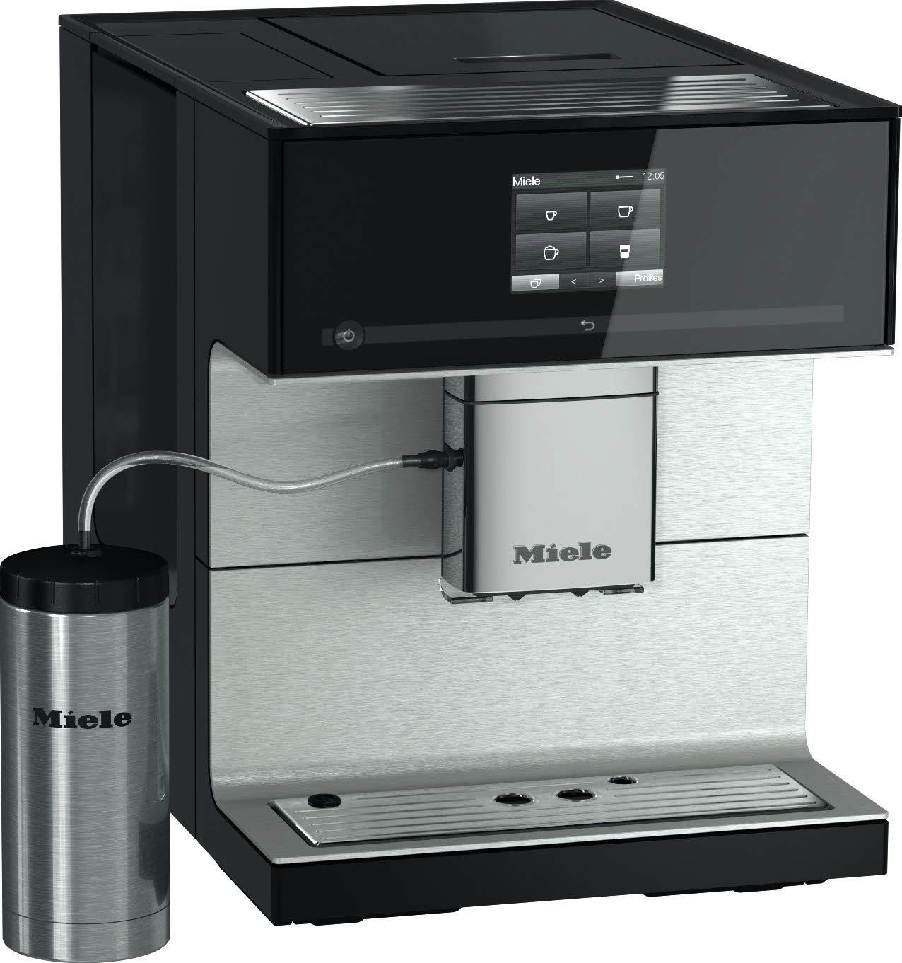 Miele CM 7350 Independiente - Cafetera (Independiente, Cafetera de filtro, 2,2 L, Molinillo integrado, 1500 W, Negro): Amazon.es: Hogar
