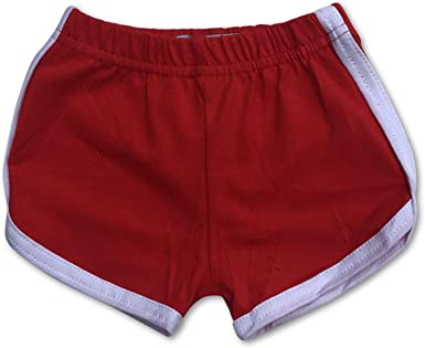 Sol Baby Retro Infant/Toddler Red Gym Shorts