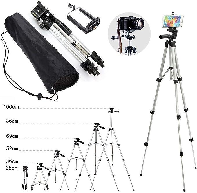 Tripod Digital Camera Stand Mount Holder For Camcorder Phone iPhone DSLR SLR UK