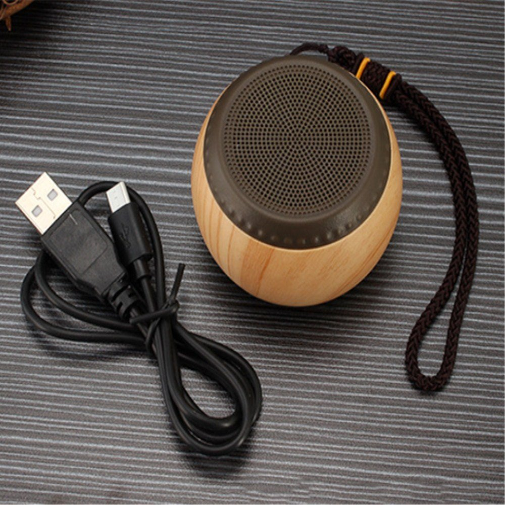 Cherlvy Wireless Bluetooth Low-pitched Mobile Phone Outdoor Portable Round Sound.