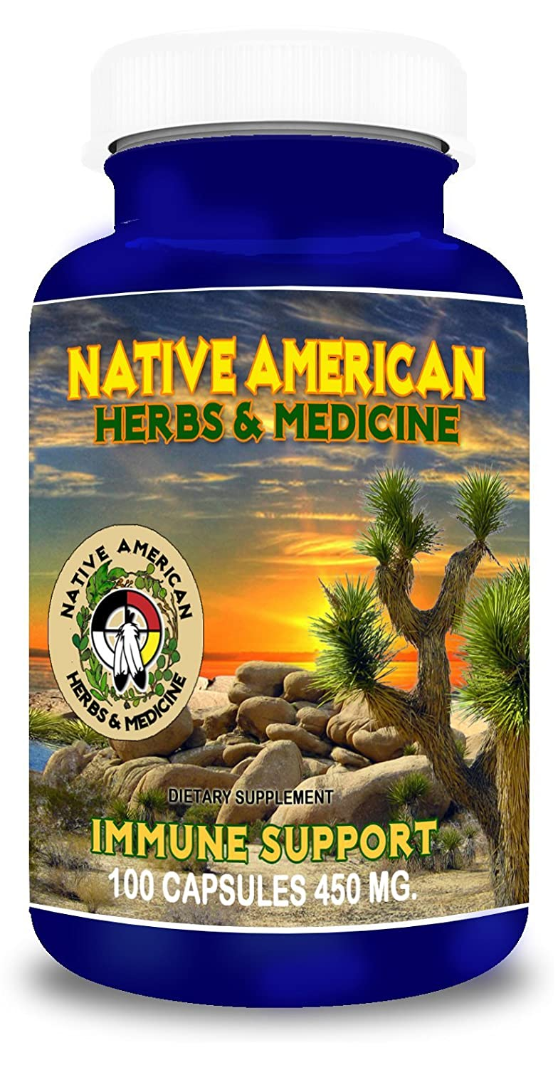Native American Herbs Medicine – Immune Support – 100 Natural Herb