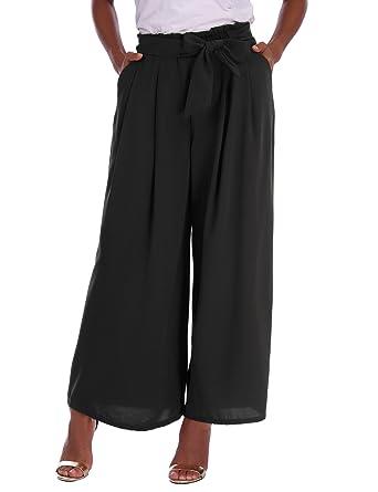 bd768c4c93d Abollria Wide Leg Trousers Women