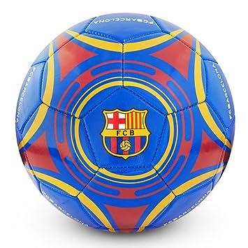 FCB Barcelona Star - Pelota de fútbol (tamaño 5)  Amazon.es ... da91cd0daf4