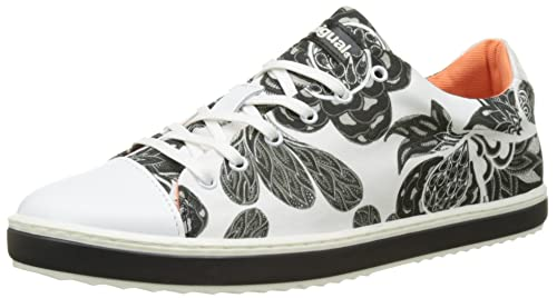 Desigual Supper Happy Xupi, Zapatillas para Mujer, Blanco (White 1000), 39 EU: Amazon.es: Zapatos y complementos