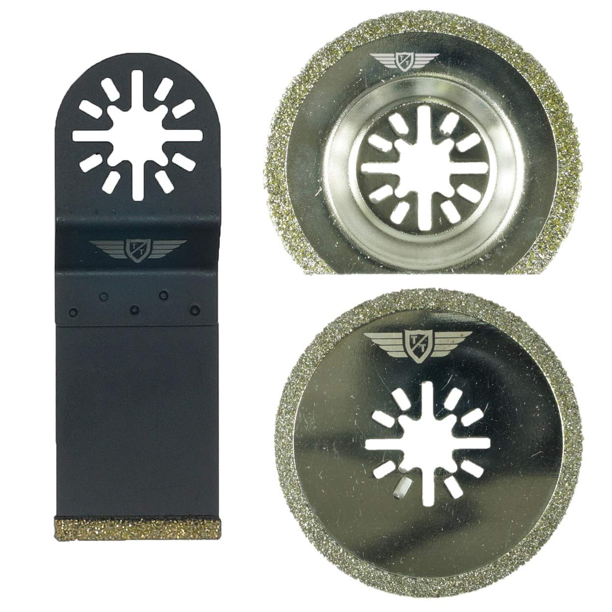 5//10X Oscillating Saw Blades Multi Tool For Fein Multimaster Dewalt Makita 65mm.