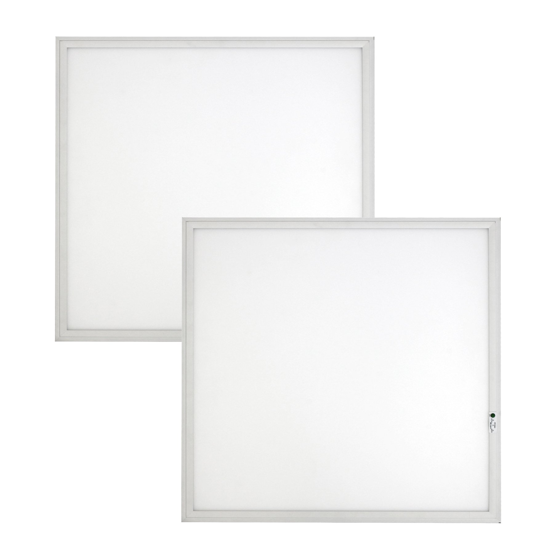 2-pack, 2ft. x 2ft. Dimmable Emergency Flat Panel LED - 17W Backup - 35W, 4550 Lumens 4000K Bright White