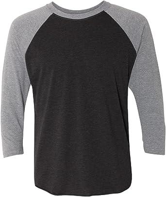 Next Level Unisex Tri-Blend 3//4 Sleeve Raglan T-Shirt