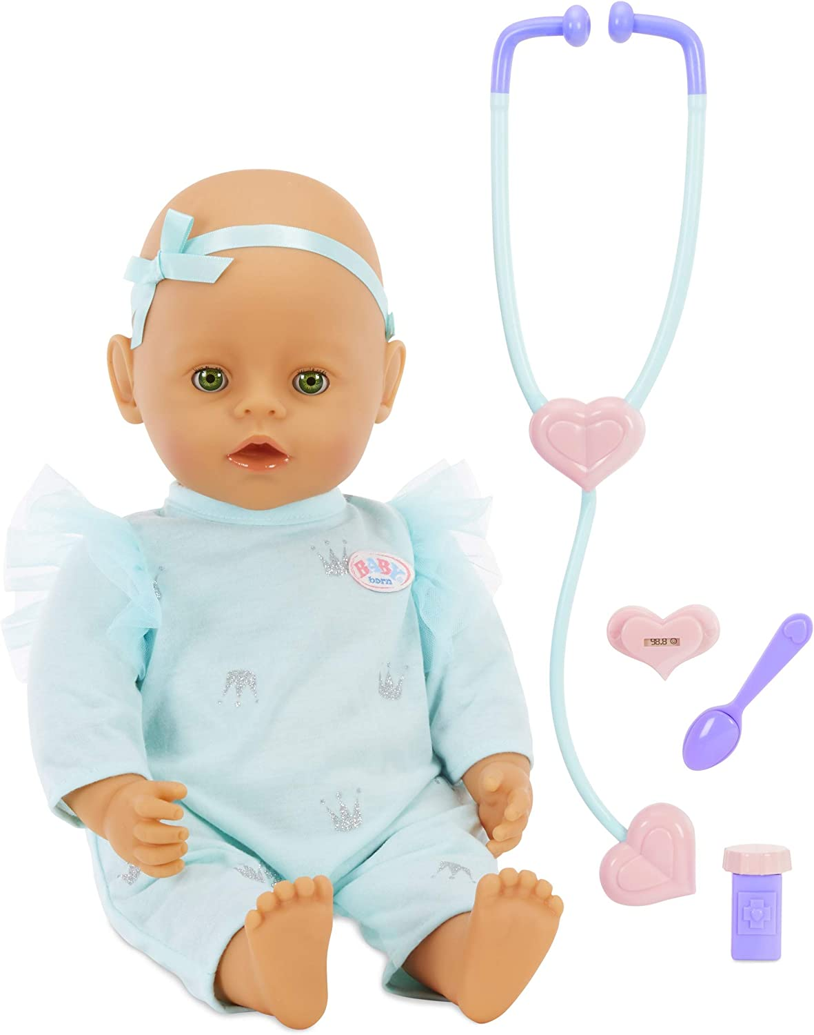 Baby Born Mommy Make Me Better Doll- Green Eyes