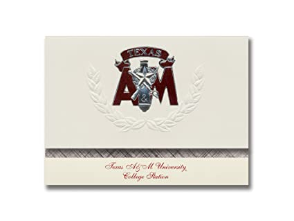 amazon com signature announcements texas a m university graduation